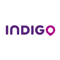 Logo Indigo - Référence client My Blind Test